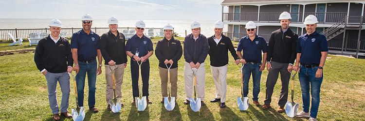 Acella Construction Corp. breaks ground on Pelham House Resort $5.5 million renovation