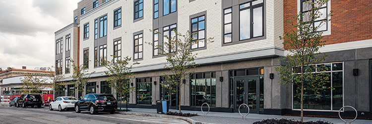 Project of the Month: NEI General Contracting completes 28 Austin - 82,000 s/f modular mixed-use development