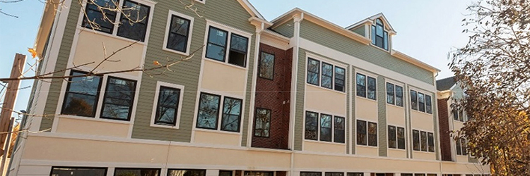 Denenberg Realty Advisors sells 12-unit mixed-use apartment building at 57-59 Pleasant St. for $2.8 million