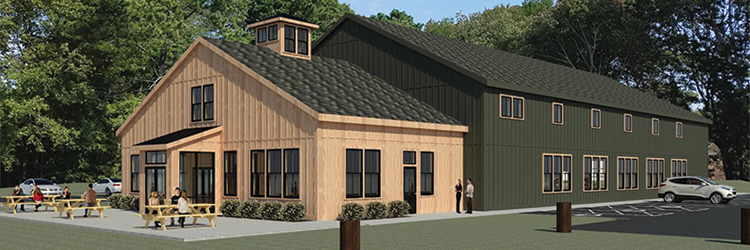 DiPrete Engineering provides engineering and <br>design services for new Tilted Barn Brewery in Exeter