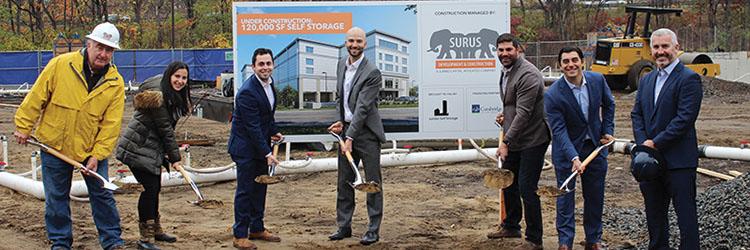 Surus Development & Construction, LLC breaks ground on 120,000 s/f self-storage facility for Jumbo Capital Management, LLC