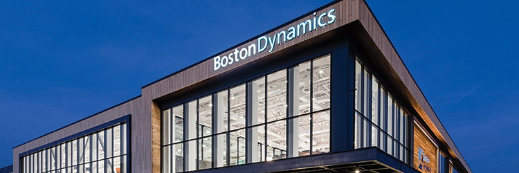 Project of the Month: Bergmeyer and J. Calnan & Associates Complete New Boston Dynamics Headquarters and Laboratories