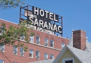 Hotel Saranac, 100 Main Street, Saranac, NY