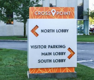 Crosspoint signage