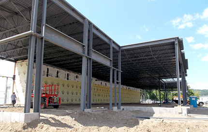 Toyota Of Greenfield >> Integrated Builders Tops Off New Greenfield Toyota And Ford