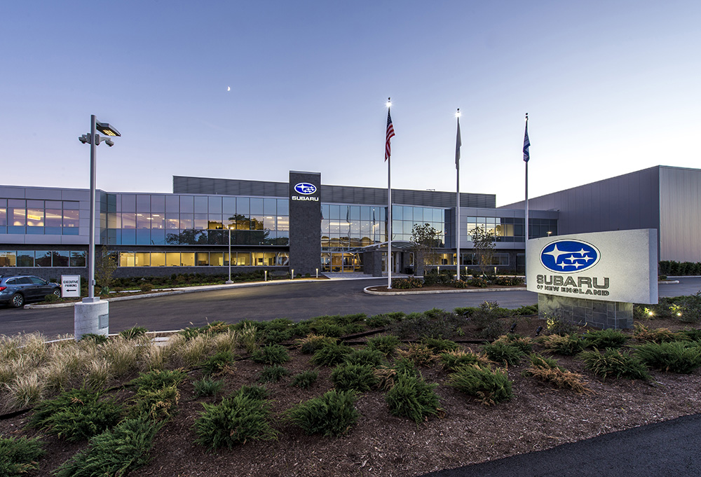 Subaru Of New England >> Project Of The Month Columbia Construction And Gorman