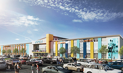 Project of the Month: APEX Center of New England: A visionary entertainment, hospitality and retail experience