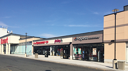 Cbre new england leases 17 369 s f at springfield plaza for Springfield registry of motor vehicles