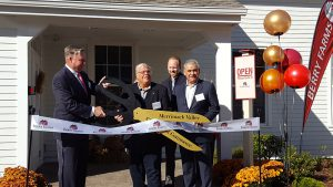 Shown (from left) are: Deane Dolben, president, Dolben; Joseph Bevilacqua, president, Merrimack Valley Chamber of Commerce; Eric Loth, managing director, Minco; and Louis Minicucci, president, Minco.