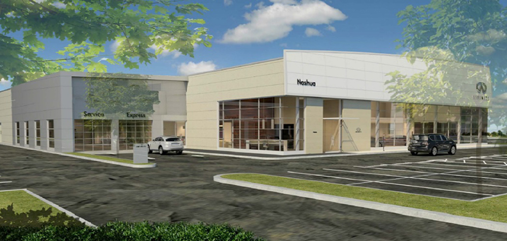 maggiore construction to provide construction management for 6 7 million infiniti dealership. Black Bedroom Furniture Sets. Home Design Ideas
